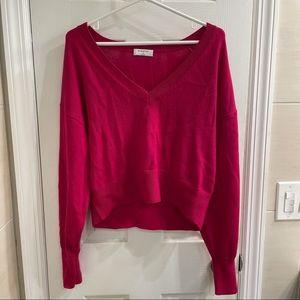 Aritzia Babaton 100% Merino Wool Cropped Sweater